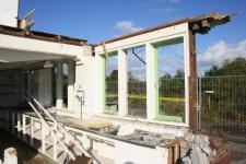 20 Oktober: het asbest is verwijderd en nu is de keuken aan de beurt
