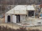 30 januari: De temperatuur was hoog genoeg om het beton voor de eerste verdieping te storten