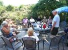 13 Juli: Voorzitter Piet Hos dankt de vrijwilligers voor hun tomeloze inzet