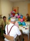 Gelukkig was er een pomp om alle ballonnen op te blazen